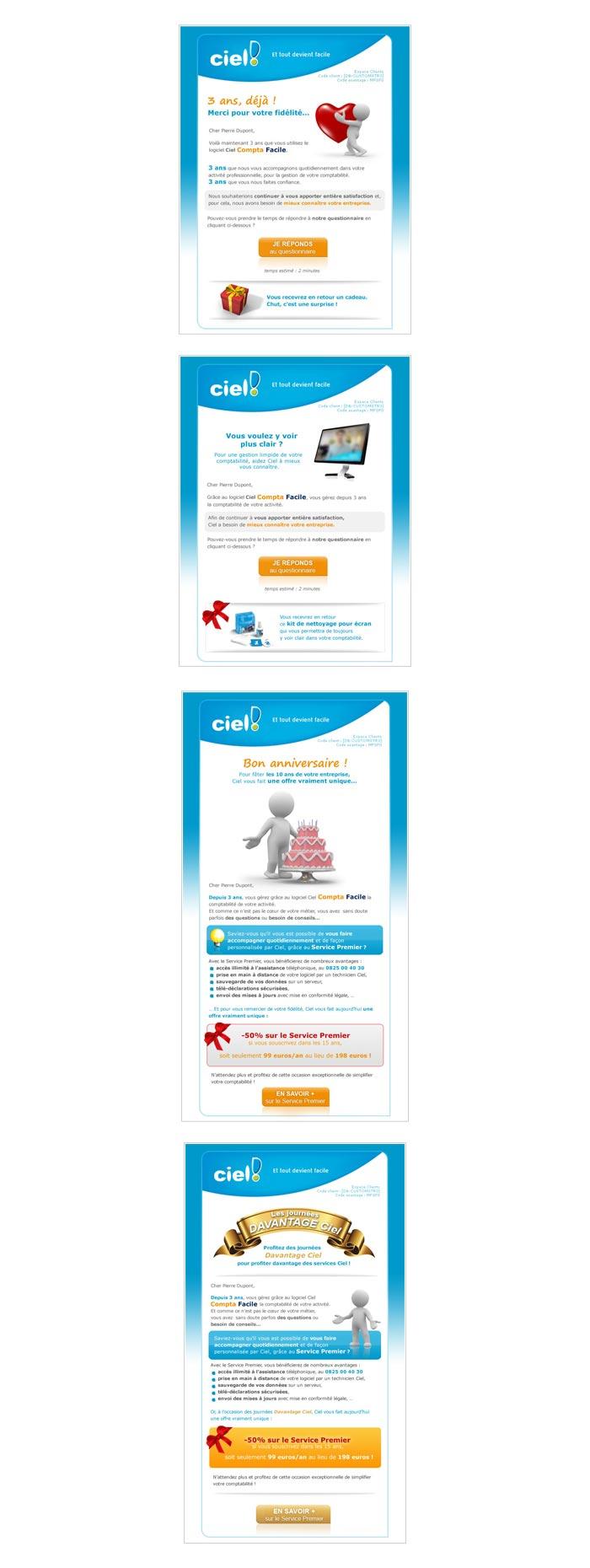 marketing direct et web marketing pour reconquête clients
