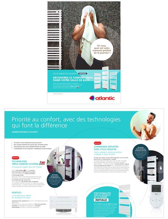 catalogue, brochures et fiches produits pour entreprise solutions de chauffage