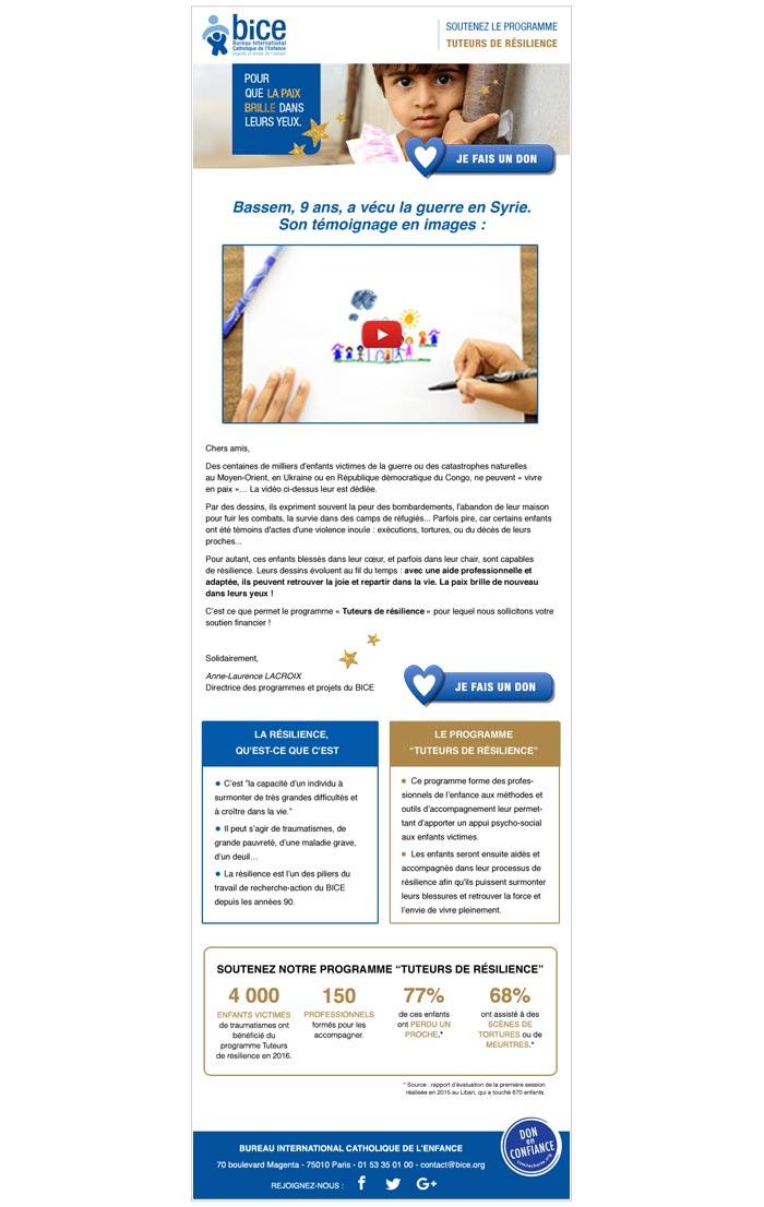 emailigs fundraising pour association