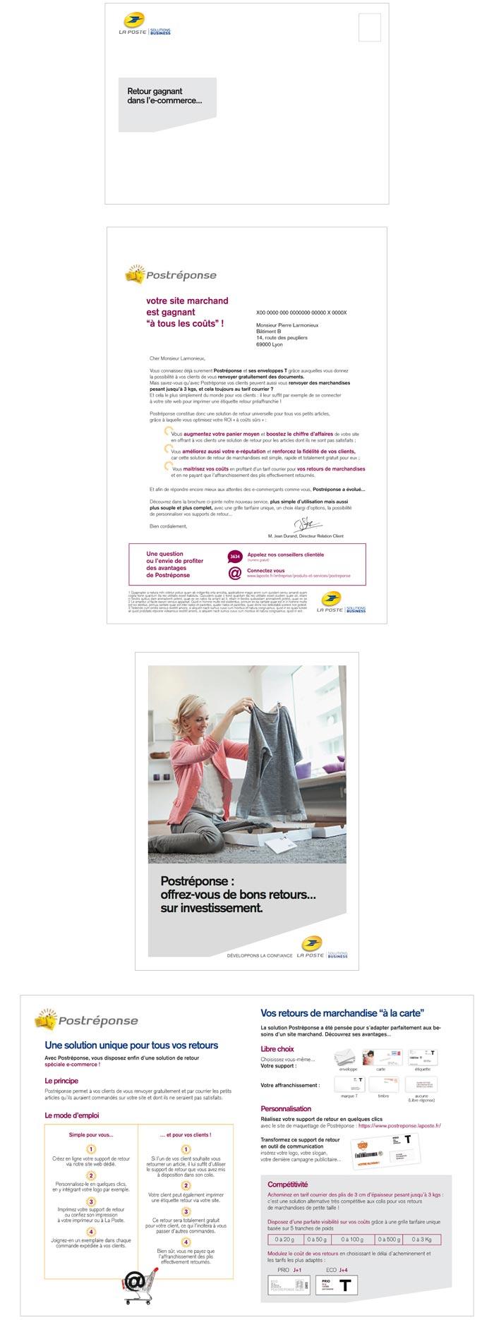 mailing papier pour sites e-commerce