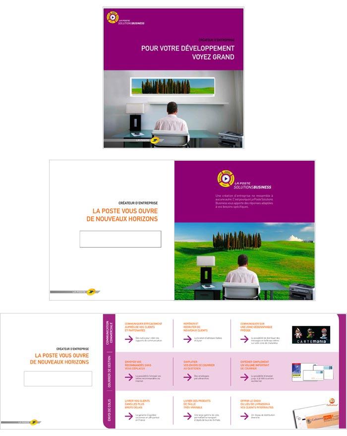 mailing papier pour créateurs d'entreprises