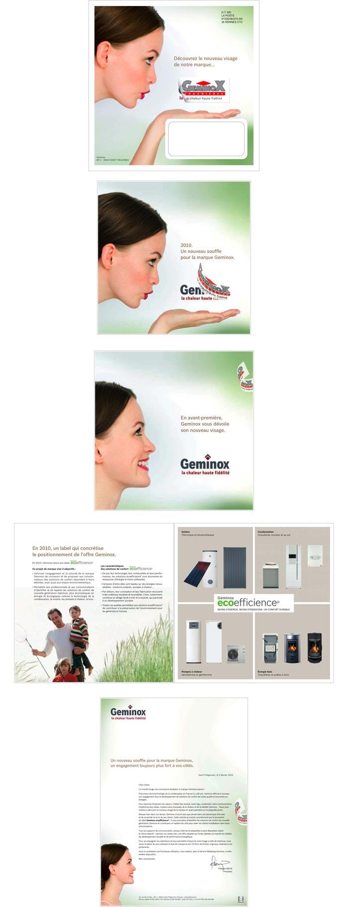 Mailing print pour le réseau des distributeurs