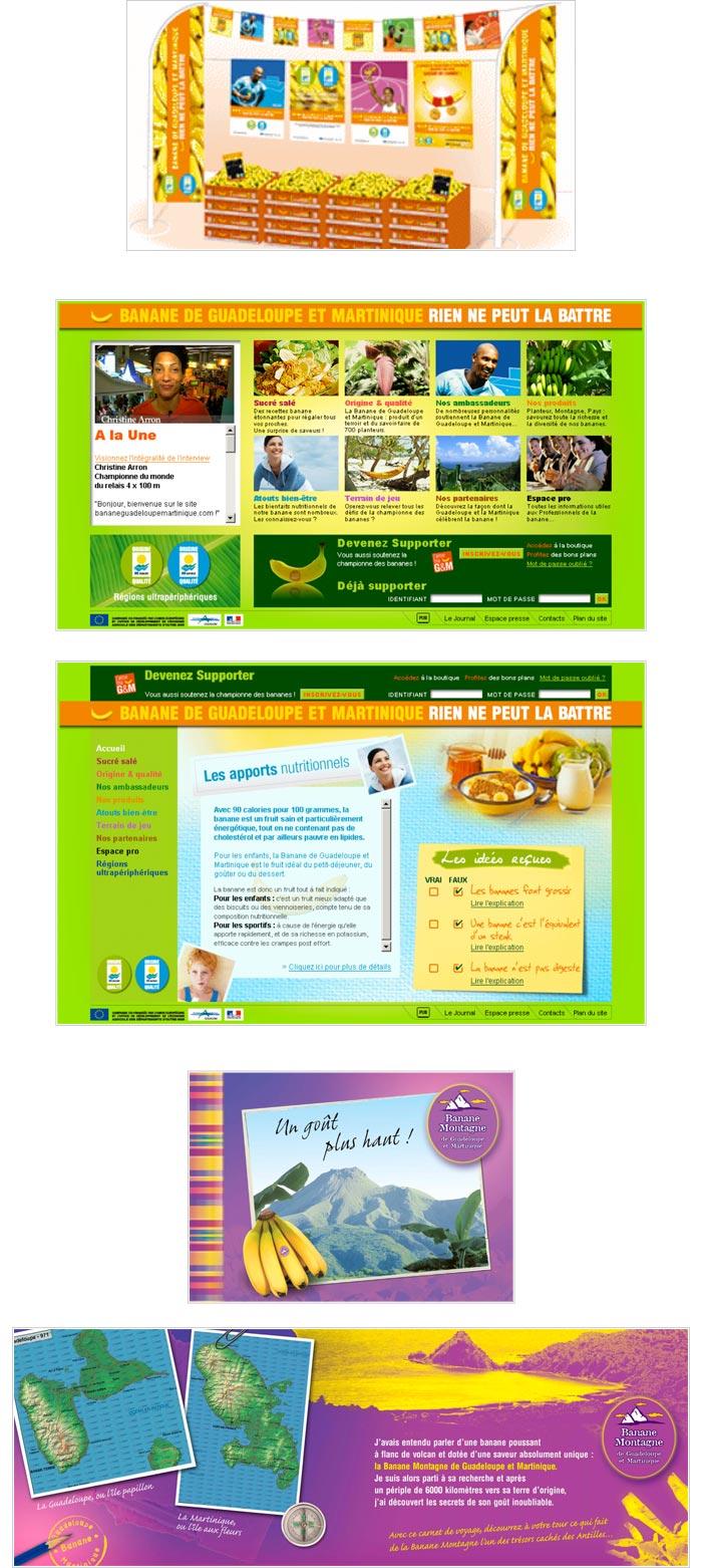 communication web, print et événementielle pour alimentation