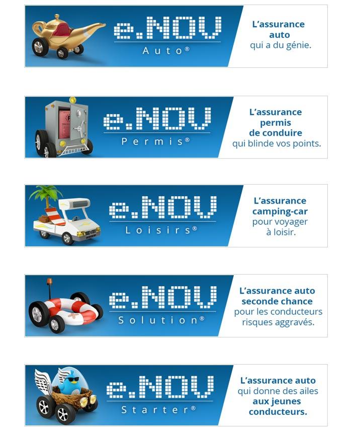 bandeau web pour une gamme de produits d'assurance Auto Moto