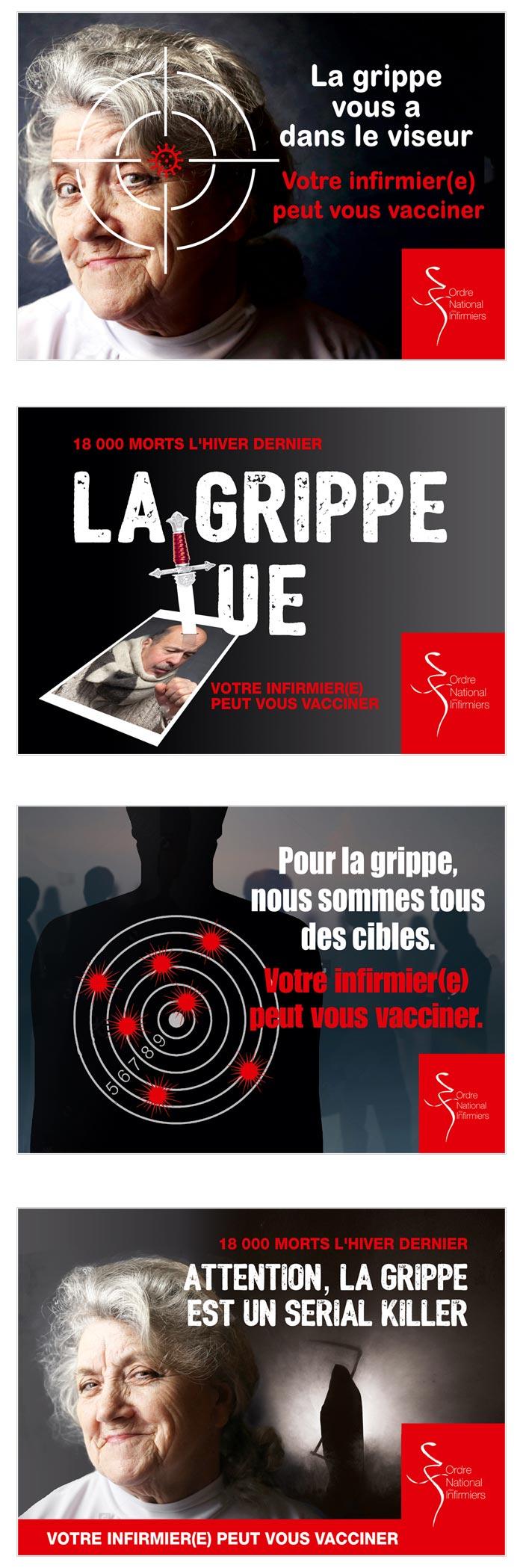 campagne d'affichage sur la santé