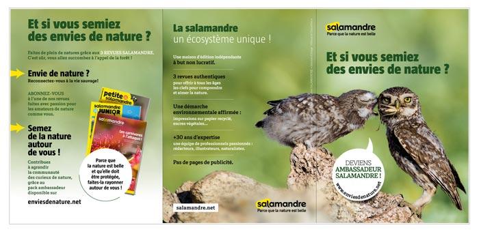 leaflet pour opération de parrainage