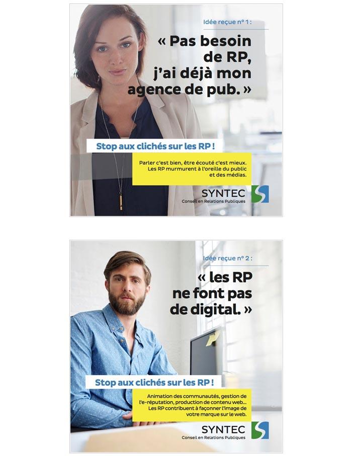 campagne publicitaire pour syndicat d'agences de communication
