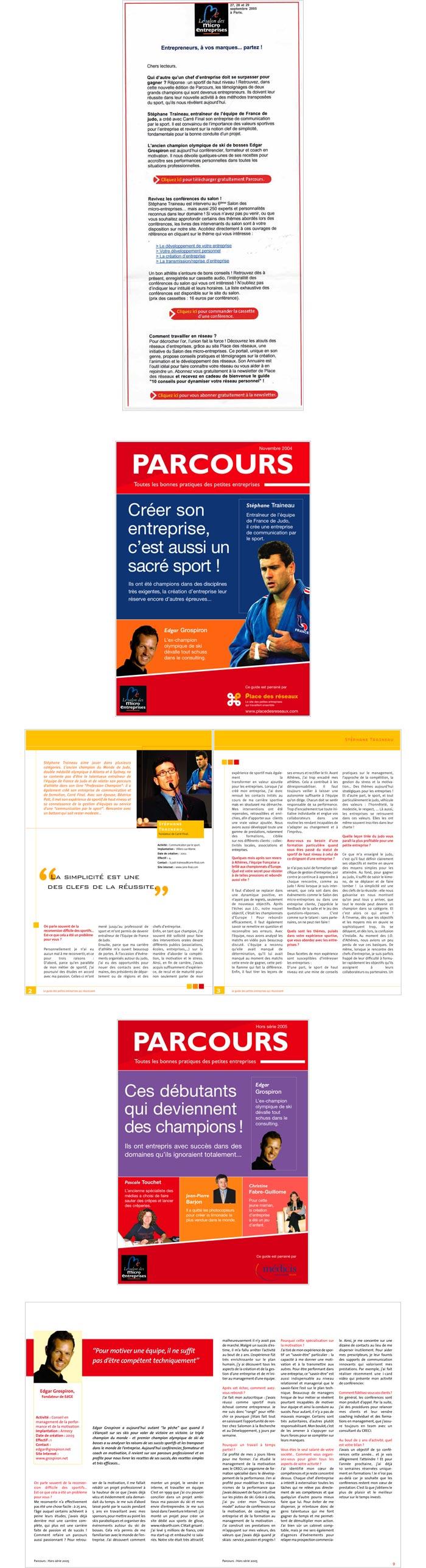newsletter du site et du web mag