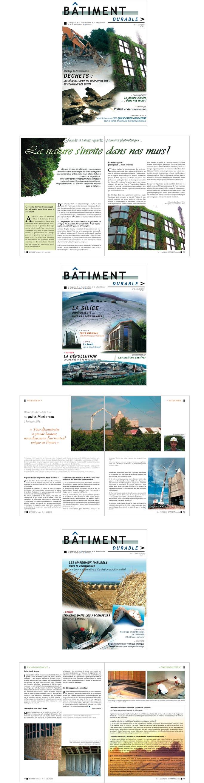 articles pour revue sur construction et Développement durable