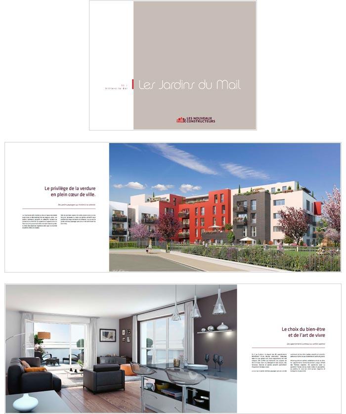 plaquettes pour projets immobiliers neufs