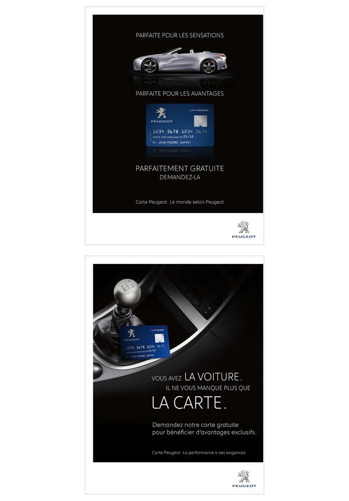 affiche publicité pour automobile