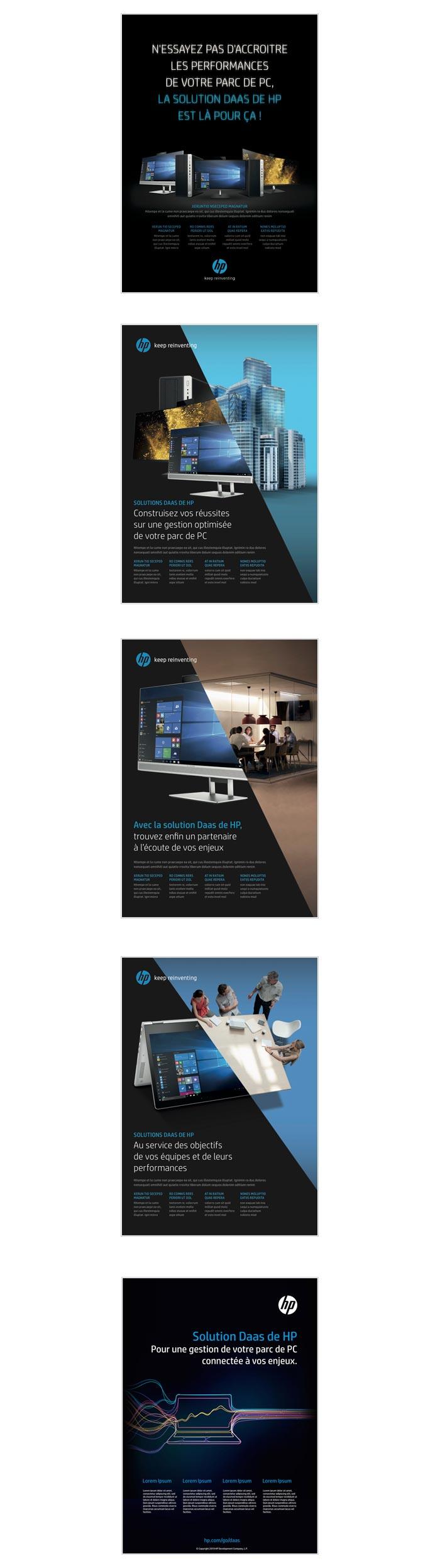 publicités BtoB pour solutions DaaS