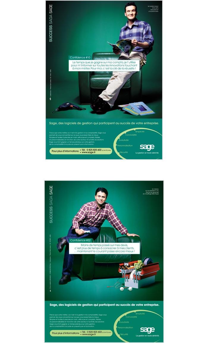 publicité pour services professionnels aux entreprises