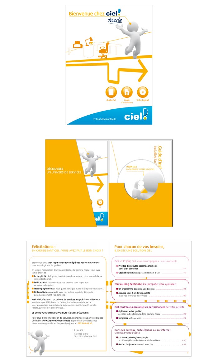 packaging pour logiciels comptables des professionnels