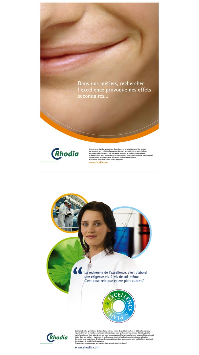 affiches et publicité pour récrutement et ressources humaines