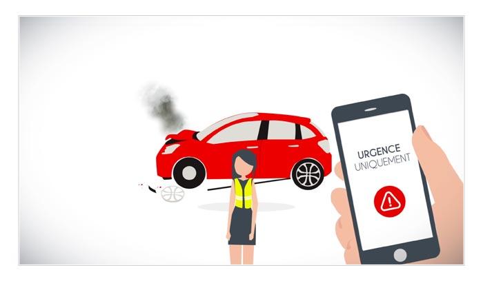 film sur application mobile dans univers automobile