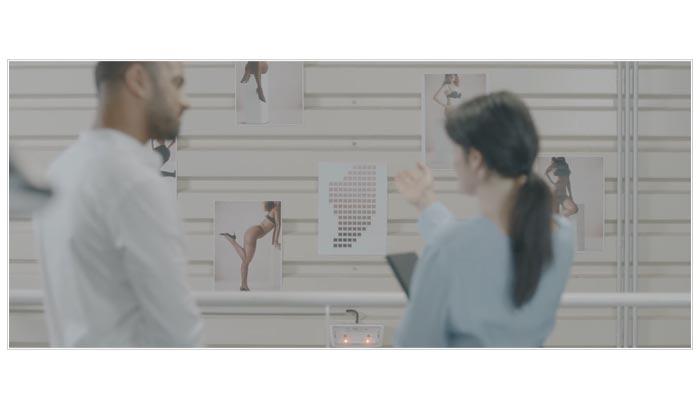 film sur les nouvelles innovations d'un collant de compression médicale