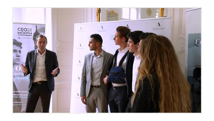 film reportage pour Groupe Adecco