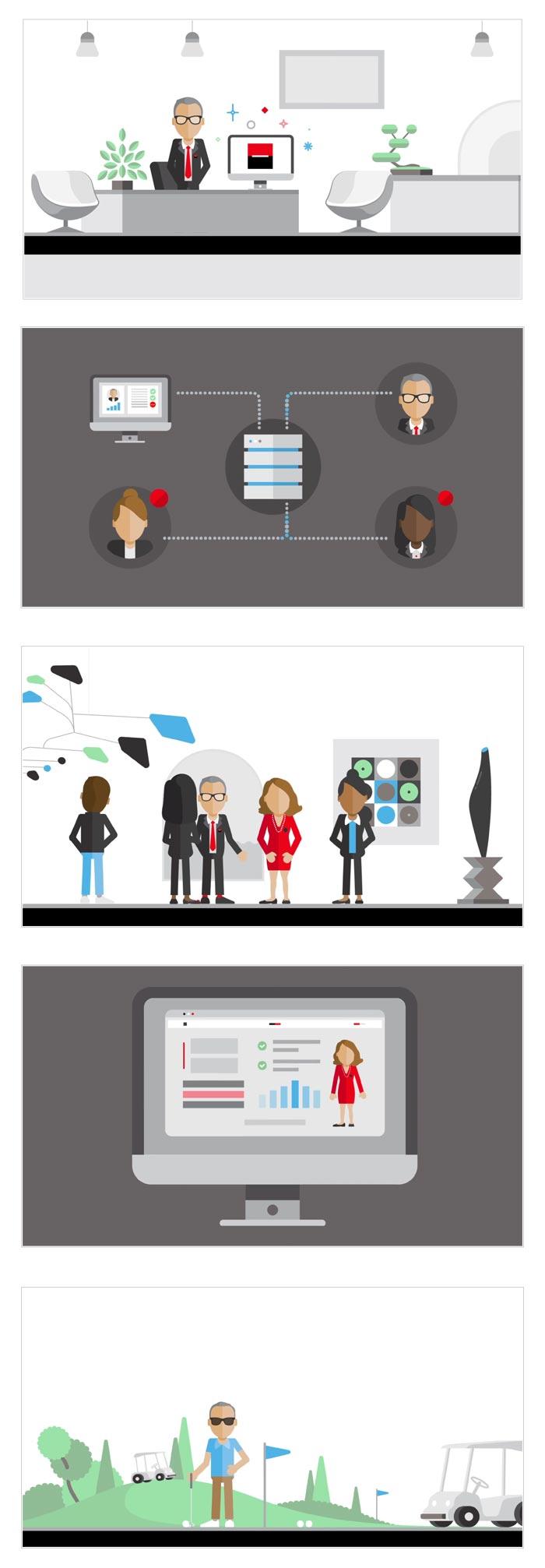 video e-learning pour banque privée
