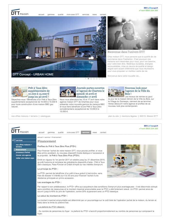 site internet pour constructeur immobilier