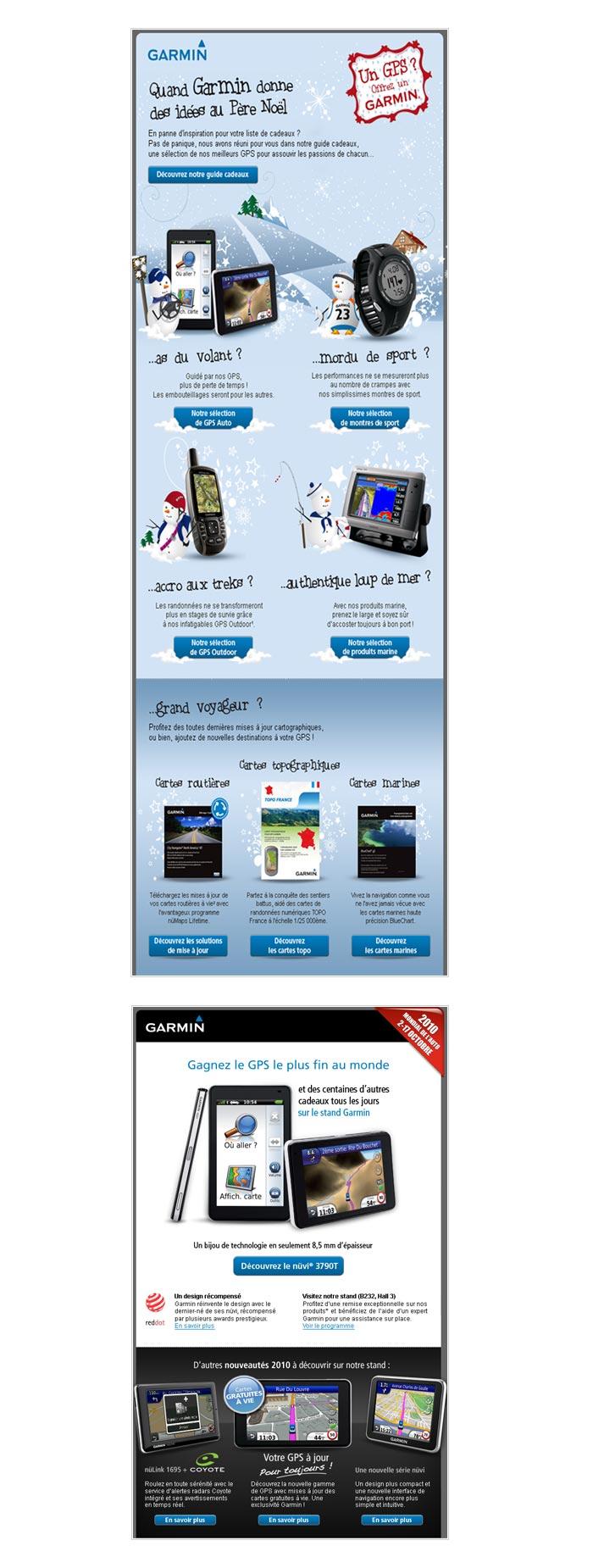 e-mailings abonnés newsletter sur produits high tech