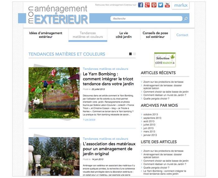 blog grand public sur la décoration de jardin
