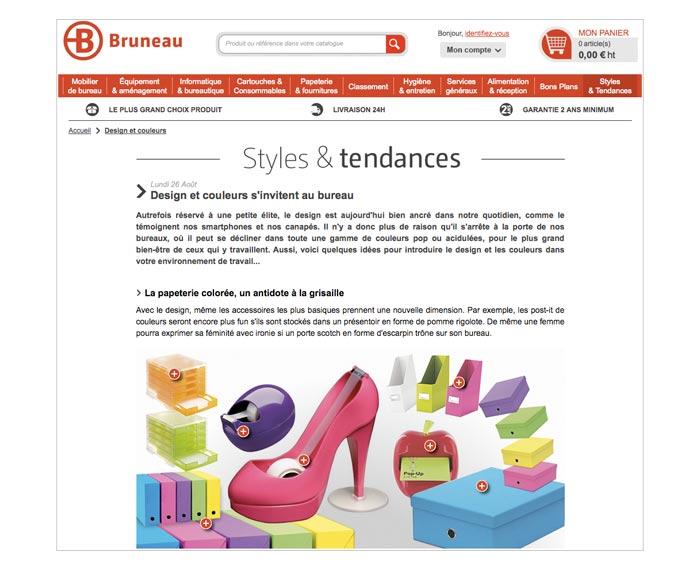 contenu web sur fournitures et mobilier de bureau