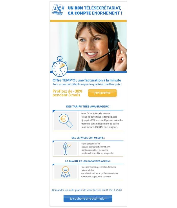 emailings commerciaux pour professions médicales et libérales